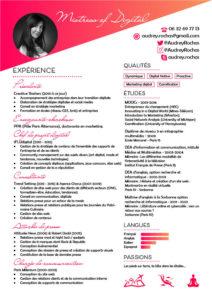 CV Audrey Rochas